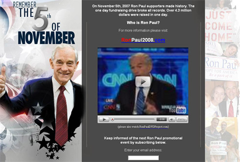 Ron Paul: This November 5th
