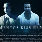 Mentos Runs Kiss Cams & Kiss Fight Campaigns
