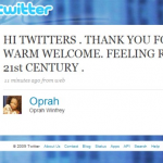 Oprah: Next Rising Star In The Social Universe