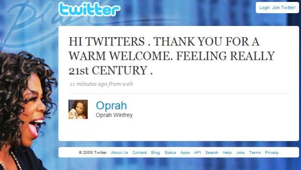 Oprah: Next Rising Star In The Social Universe | ViralBlog