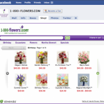 1-800-Flowers Opens First Facebook Store