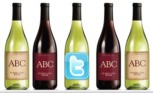 Twitter начала продажу вина собственного изготовления. печать.