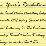 New Year's Social Media Resolutions