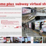 Virtual Shopping In The Subway