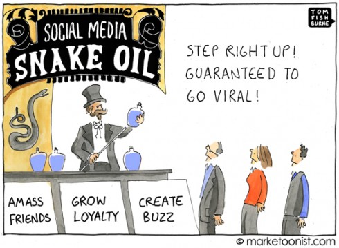 How to Buy Social Media Snake Oil