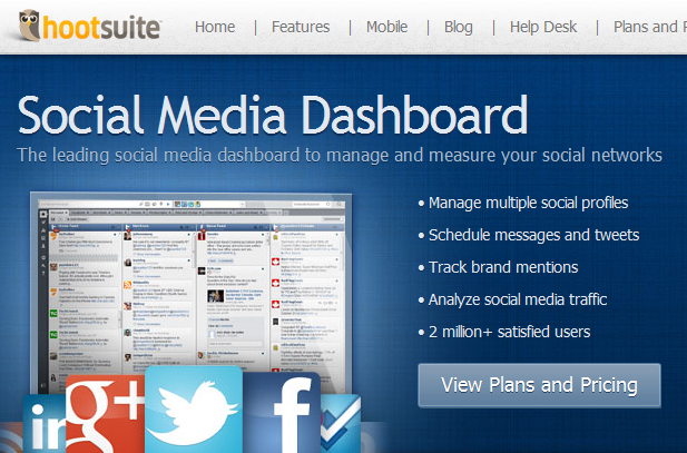 hootsuite social media dashboard The Guide To 88 Social Media & Monitoring Tools