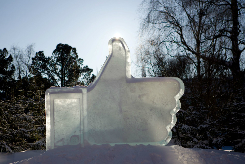 facebook like ice vb 50 Examples: Brands Thanking Facebook Fans