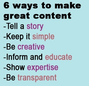 Response Tap - 6 ways to make great content