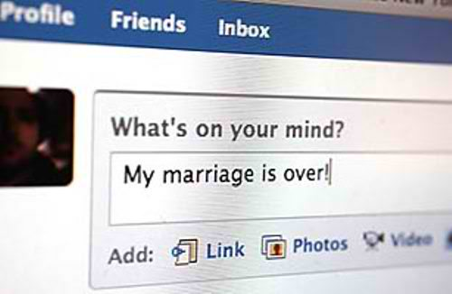 Facebook, Social Media And Divorce