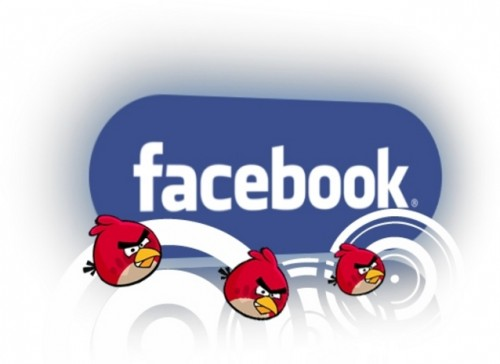 angry birds - 2012 Facebook: Year Of Social & Casual Games [Infographic]