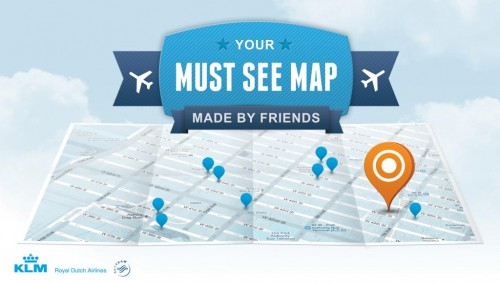 How Social Fuels Print? KLM Must See Map, Made By Friends.