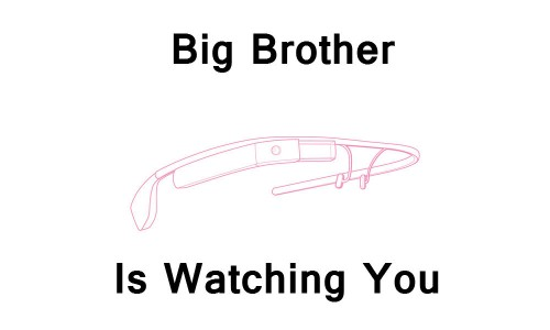 Google Glass And Privacy Concerns - Big Brother is watching you