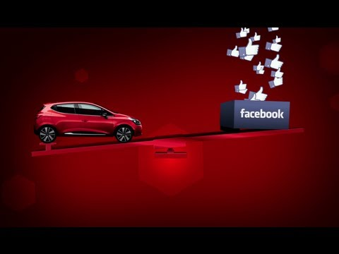Renault Clio: The First Car Carried By Facebook Likes?