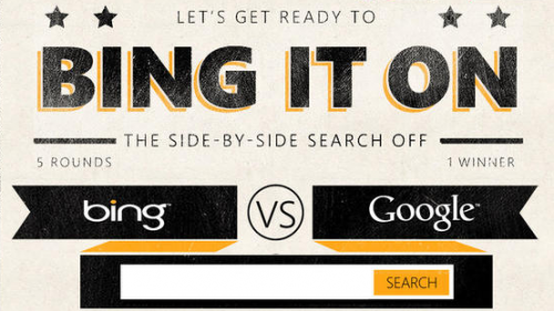 "bing-it-on Bing vs. Google campaign"" title="