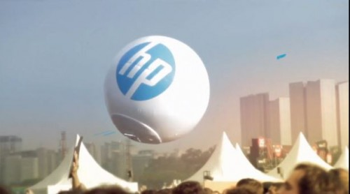 HP Photoball: HD Camera Wi-Fi Charged Event Photos Sao Paulo Music Festival Brazil