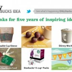 My Starbucks Idea: 5 Years Of Inspiring Ideas