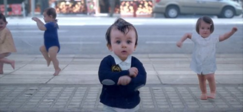 the new evian film babyme 500x232 New Evian Viral Dancing With My Baby me