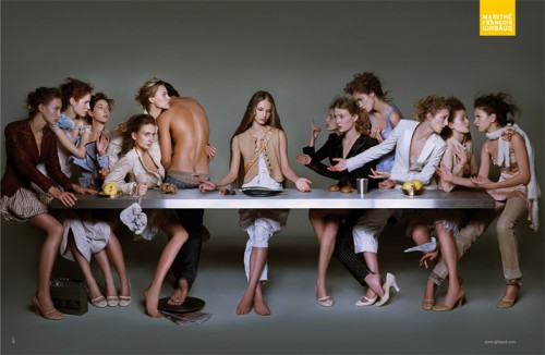 <h2>Marithé + François Girbaud: The Last Supper</h2>
