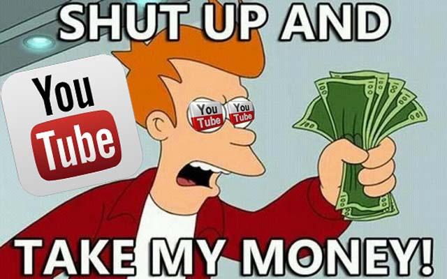 Resultado de imagen para youtube money
