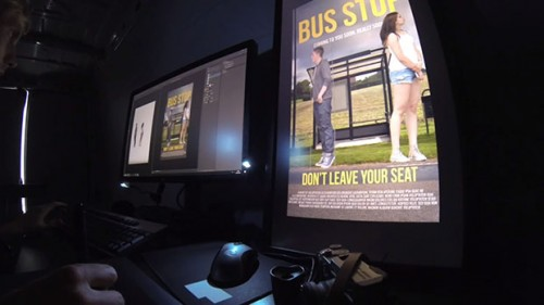 Adobe: The Funniest Photoshop Bus Stop In The World