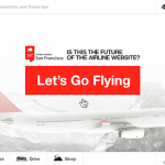 Is This The Future Of The Airline Website?