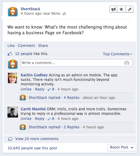 ShortStack on ViralBlog.com about Facebook Marketing