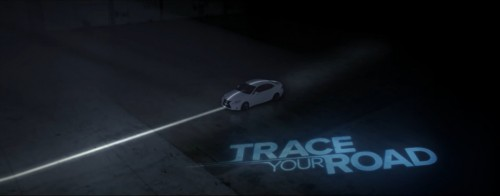 Lexus Hybrid Trace Your Road