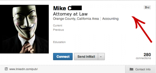 Lawyer on Linekedin