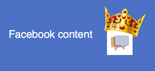facebook-content-is-king