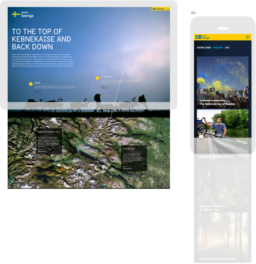 Sweden - tablet and mobile apps