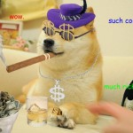 Internet Meme Dogecoin A Hotter Currency Than Bitcoin?