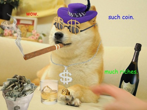 ViralBlog: Dogecoin: Internet Meme Hotter Currency Than Bitcoin?