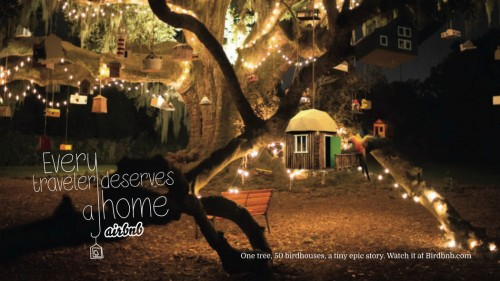 AirBnB Presents BirdBnB And Spoofs Competitor HomeAway