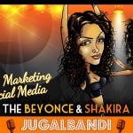 Infographic: Beyonce & Shakira Vs E-mail Marketing & Social Media