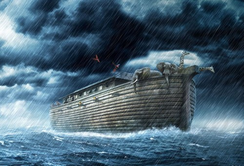 <strong>Noah</strong> was a crazy guy. He built his ark before the rain.
