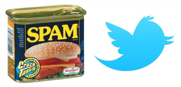Resultado de imagen para twitter spam