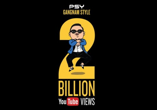 PSY Gangnam Style Hits 2 Billion Video Views On YouTube. Story by Igor Beuker for ViralBlog.com